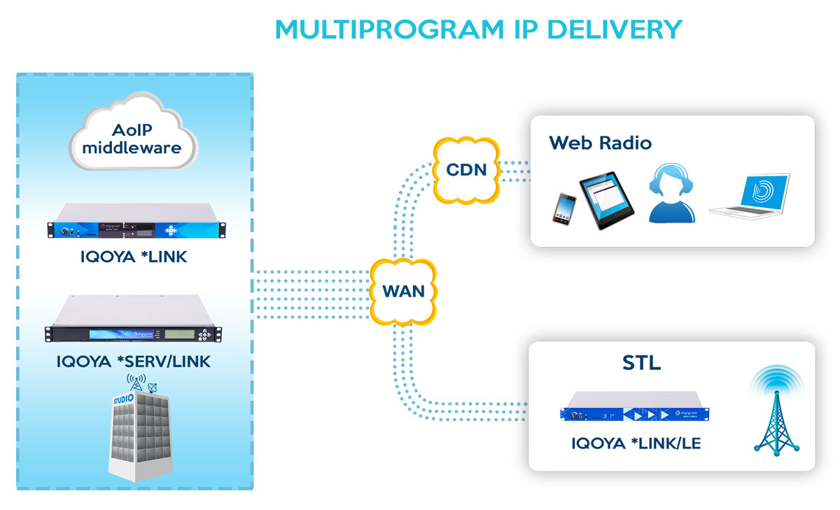 Solutions for Multichannel IP Delivery